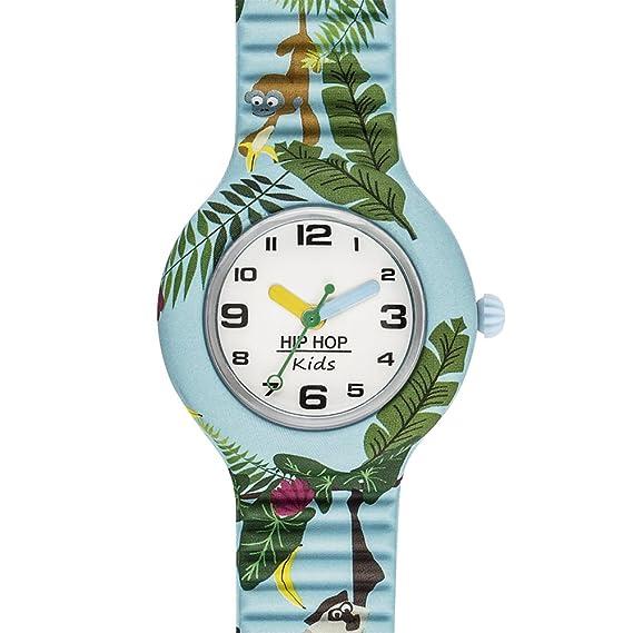 BREIL Hip Hop Reloj Kids Fun Junior Monkeys - HWU0859: Amazon.es: Relojes