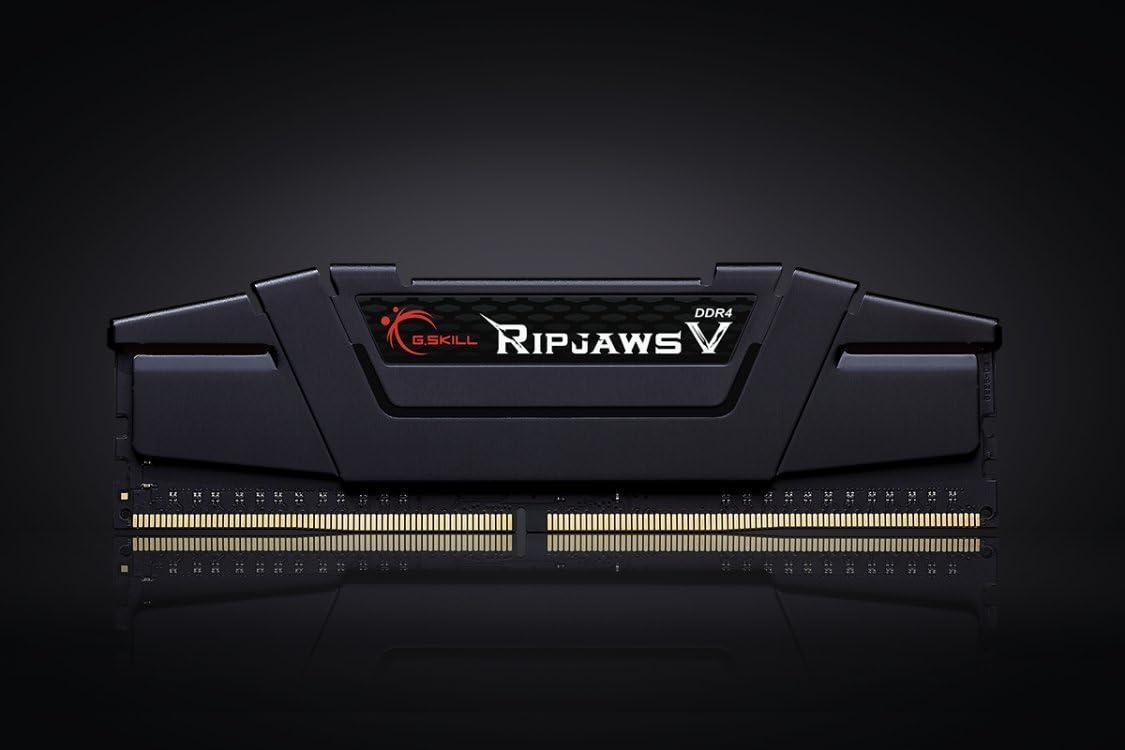 Ripjaws V Series DDR4 PC4-28800 3600MHz for Intel Z170 Platform Desktop Memory Model F4-3600C17D-16GVK G.SKILL 16GB 2 x 8GB