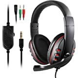 Gaming Headsetfor PS4 New Xbox One - Etpark 3.5mm Wired Over-head Stereo Gaming Headset Headphone with Mic Microphone, Volume Control for SONY PS4 PC Tablet Laptop Smartphone Xbox One S