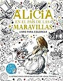 El libro de Alicia en el país de las maravillas para colorear