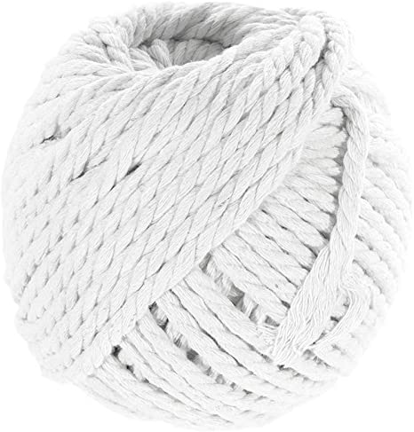 flipped 100/% Natural Macrame Cotton Cord,3mm x109 Yard Twine String Cord Colored Cotton Rope Craft Cord for DIY Crafts Knitting Plant Hangers Christmas Wedding D/écor Light Green, 3mm109yards