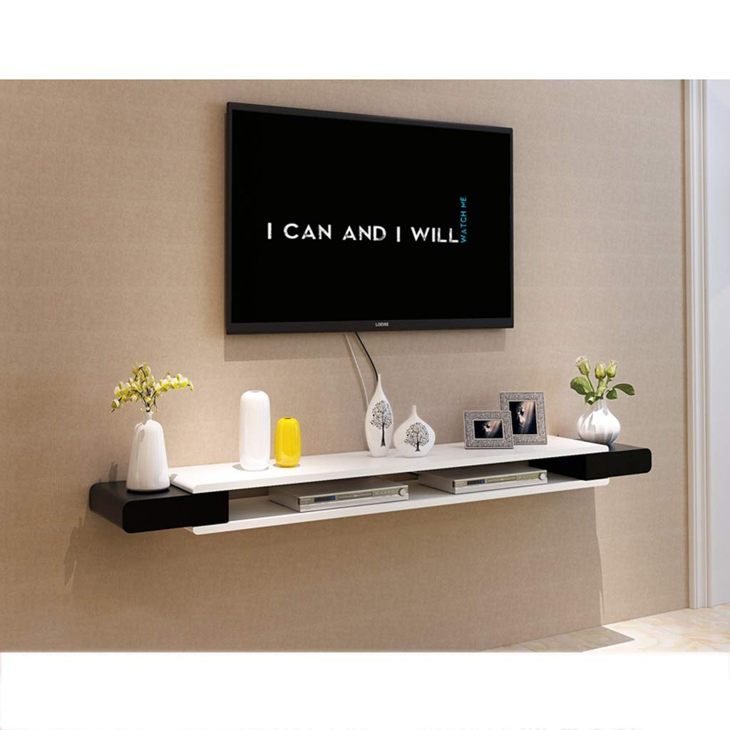 フローティングシェルフ フローティング壁掛け棚テレビキャビネットメディアコンソールテレビ棚テレビスタンドテレビコンソールブラケットスタンド用機器/Xbox One / PS4 /ケーブルボックス/DVDプレーヤー/ゲーム機 (サイズ さいず : 150×24×10.6cm) B07RQ8CB16  150×24×10.6cm