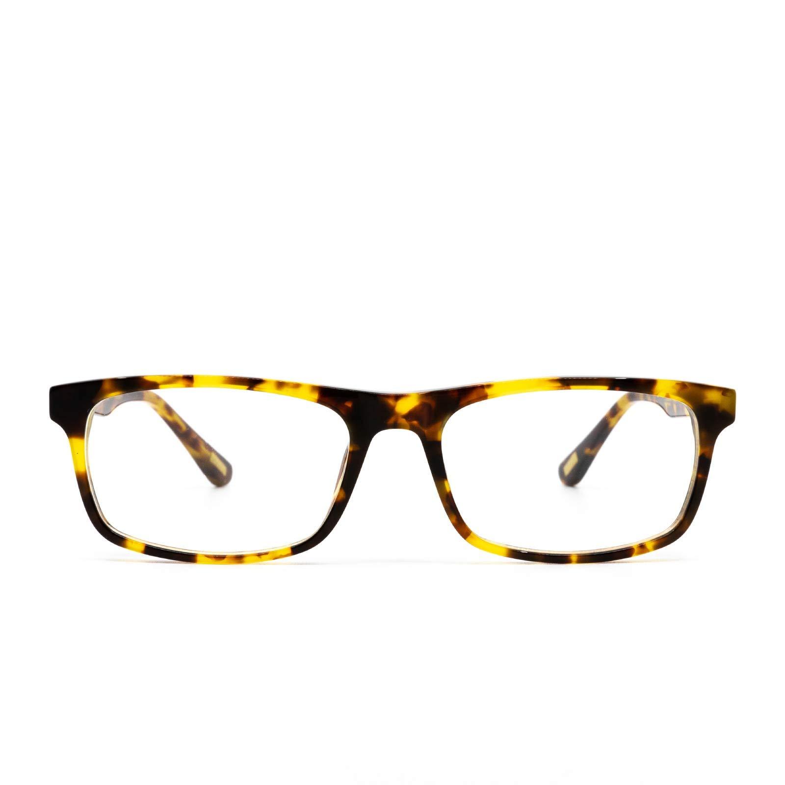 DIFF Charitable Eyewear - Reese - Designer Blue Light Blocking Glasses - HEV Light Diffusing UV400 Prevents Eye Strain Improves Sleep [for Men & Women]