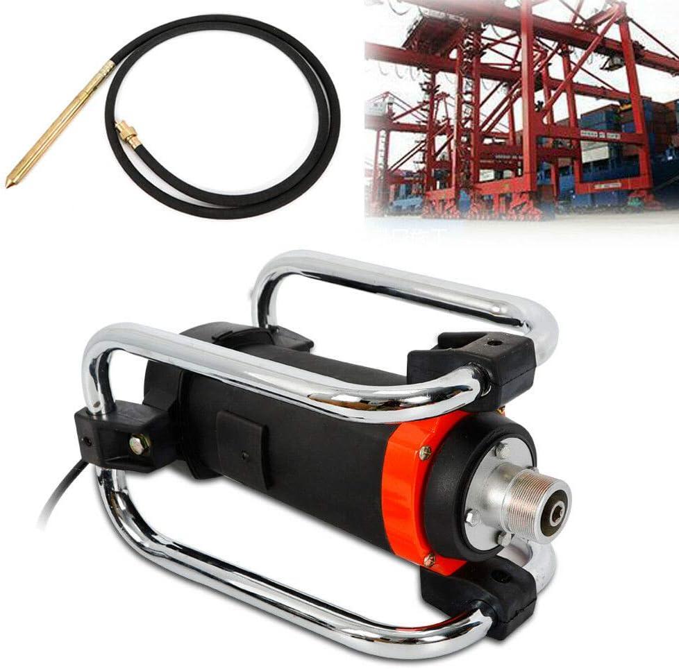 16000RPM 1100W Hand Held Electric Concrete Vibrator w4.5M// 14-3//4 Ft Poker Air Bubbles Level Remover USA STOCK