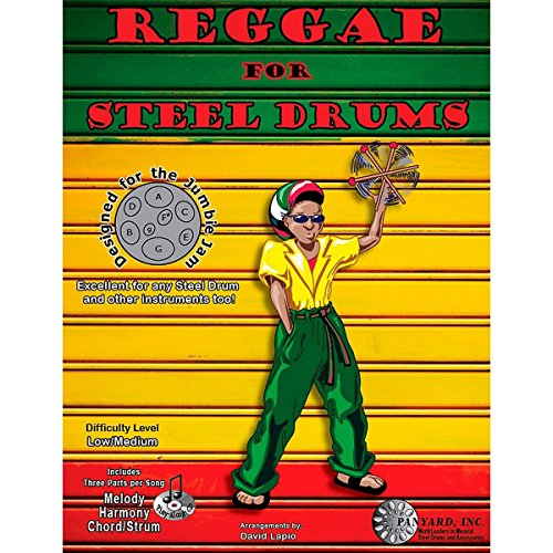 Panyard Jumbie Jam Reggae for Steel Drum Song Book -