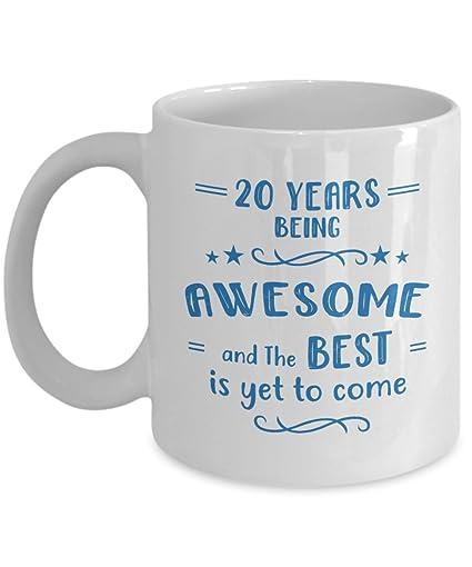 Happy 20th Birthday Mug