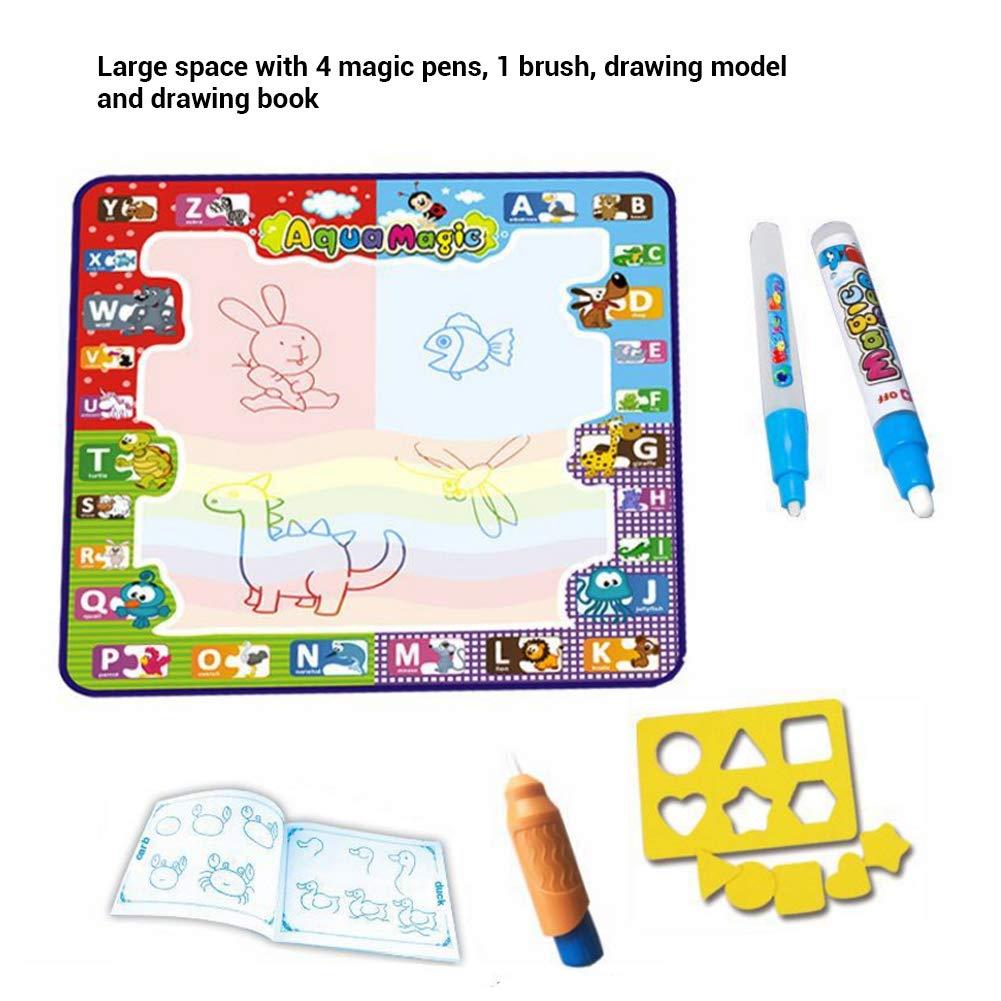 Magic Doodle Malmatte Matte für Kinder wie Aqua Doodle Malen mit Wasser 78x78