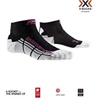 X-Socks Run Discovery WMN Socks, Mujer, Opal Black/Arctic