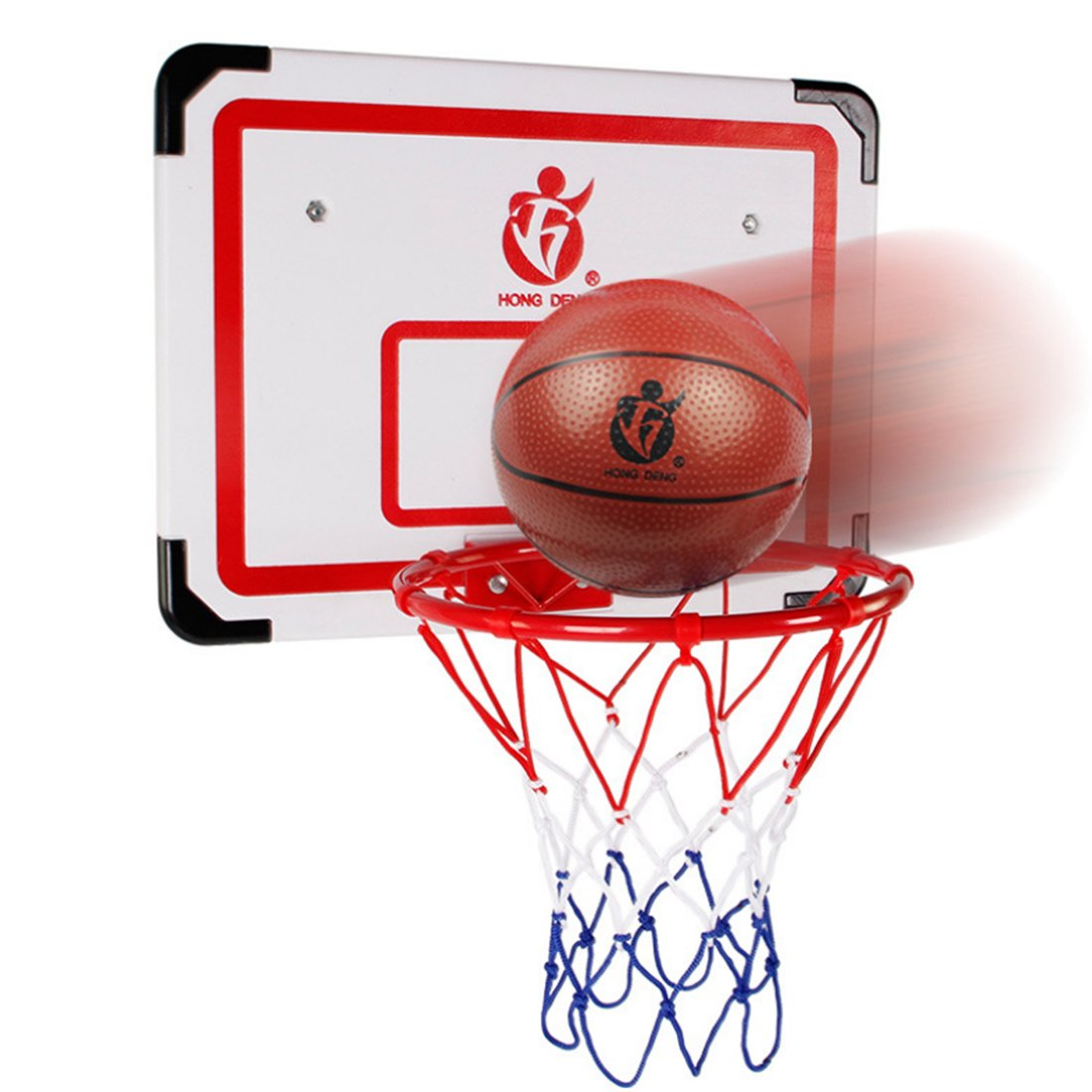 Cesta de baloncesto para ni/ños vicoki 50/cm Formas de Back tarjeta de montaje en pared cesta Ni/ños Teen est/ándar Baloncesto tiro Hoop
