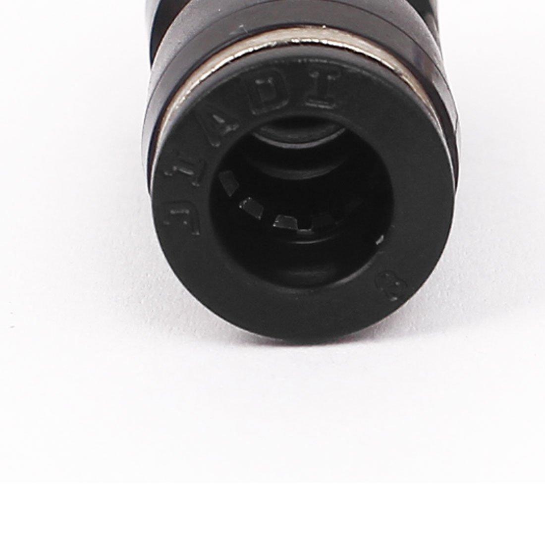 sourcingmap 50Stk Push in verbinden 8mm AD Rohr Eine Ber/ührung Gerade Schnellkupplung de