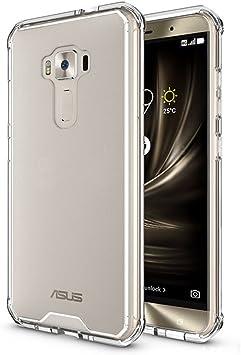 BLUGUL Funda ASUS ZenFone 3 ZE552KL, Bolsa de Gas, Prueba de ...