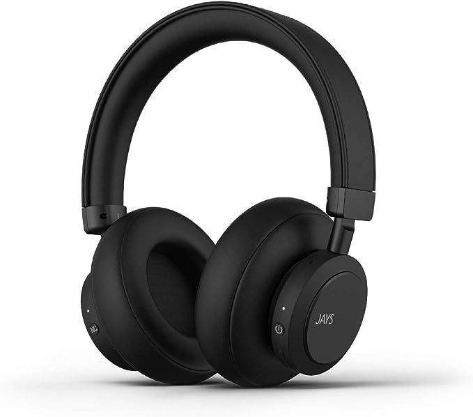 JAYS Auriculares Cancelación de Ruido Activa Bluetooth: Amazon.es: Electrónica