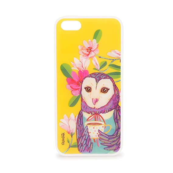 official photos 3cd88 3e3bd Chumbak The English Owl iPhone 5 Case: Amazon.in: Electronics