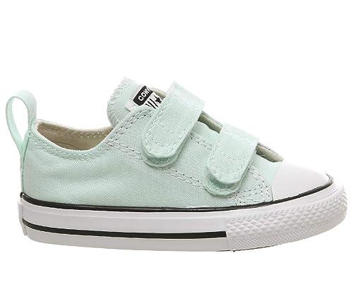 Zapatillas para niño, Color Verde, Marca CONVERSE, Modelo Zapatillas para Niño CONVERSE Chuck Taylor All Star 2V OX Verde: Amazon.es: Zapatos y complementos