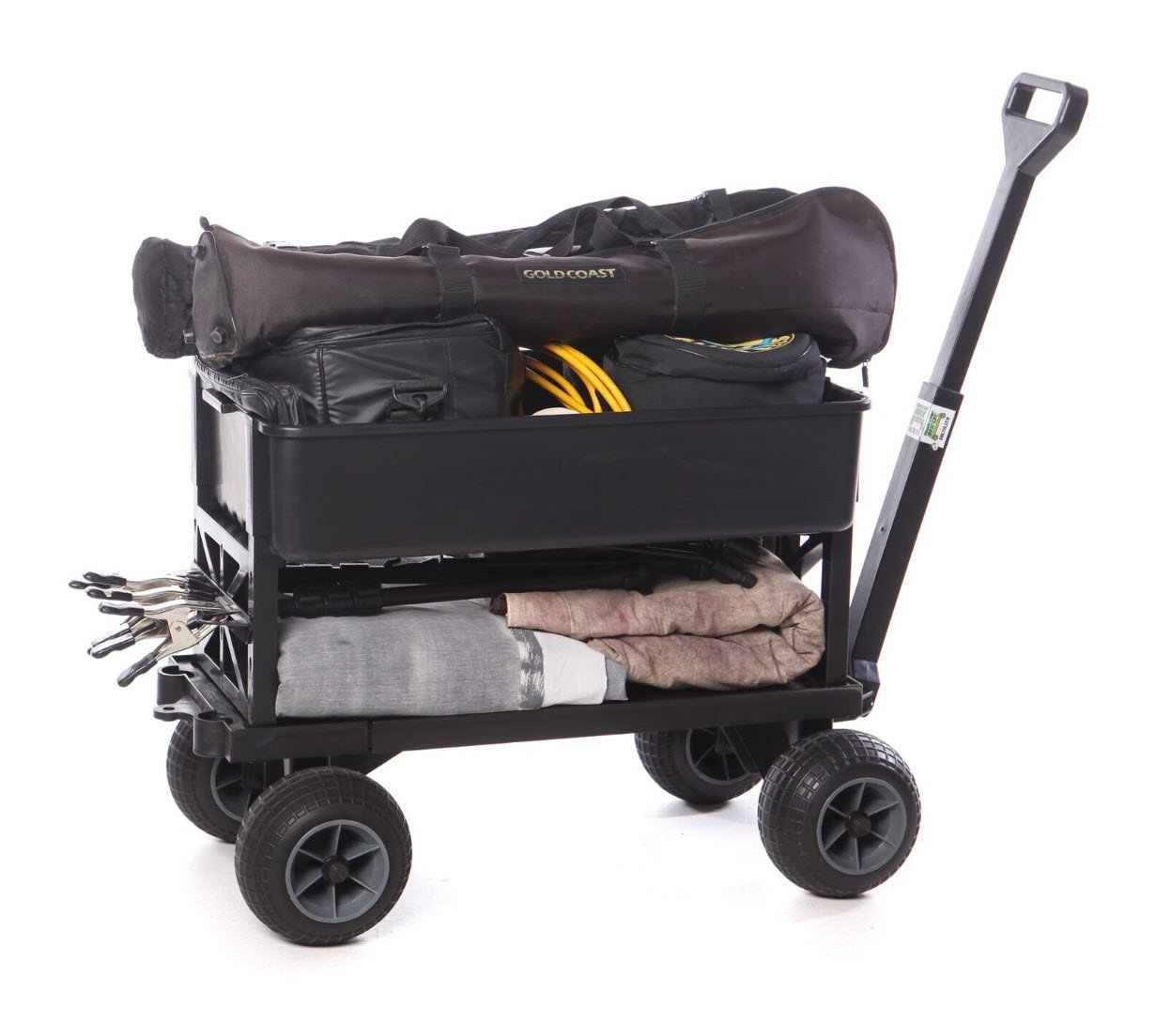 Mighty Max Plus One Multipurpose Garden Fishing Sports Equipment Cart by Mighty Max Cart (Image #10)