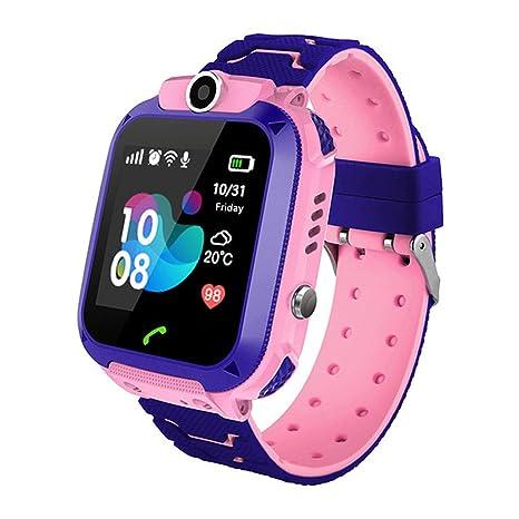 Amazon.com: zqtech - Reloj inteligente para niños con GPS ...