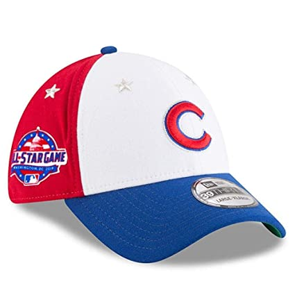 a922eb91b28b4 Amazon.com   New Era Chicago Cubs 2018 MLB All-Star Game 39THIRTY ...