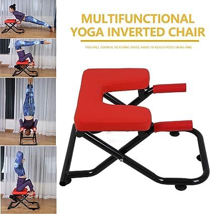XH-Fitness Silla De Inversión Multifuncional De Yoga, Banco ...