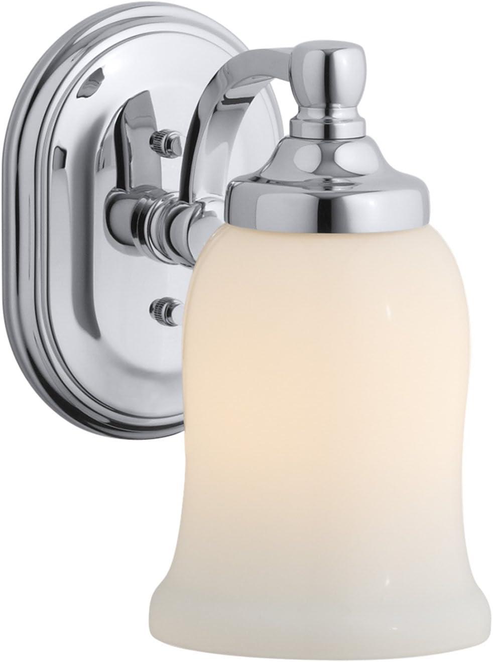 Kohler 11421 Cp Bancroft Lighting One Size Polished Chrome Wall Sconces Amazon Com