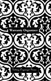Warranty Organizer: A Warranty Organizer Journal (black Moroccan print cover) (Getting Organized) (Volume 6)
