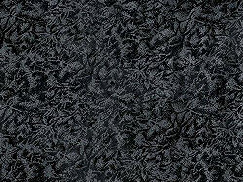 Michael Millar Fairy Frost Poplin Quilting Fabric Black - per fat quarter