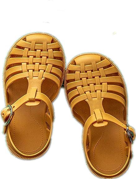 VERROL Sandalias de Verano para niñas, Zapatos de Jardín Sandalias para Piscina y Playa, Sandalias Punta Cerrada para Infantil Niñas: Amazon.es: Zapatos y complementos