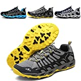 Earsoon Running Hiking Shoes Mens Tennis Shoes Sneakers