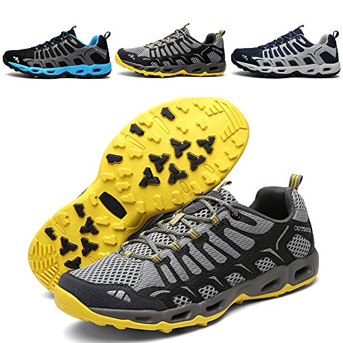 Running Hiking Shoes Mens Sneakers - 2017 Autumn New Exclusive Series ZJW17001 Earsoon for Mens Trail Running Shoes Jogging Walking Shoes Tennis Cross Training Air Shoes Outdoor Shoes