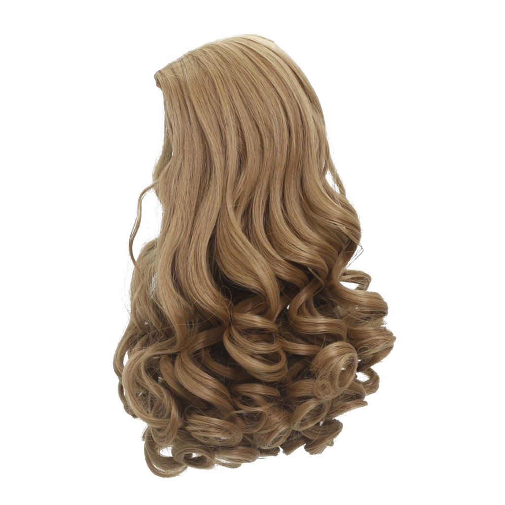 MonkeyJack High-temperature Wire Wavy Curly Hair Wig for 18inch American Girl Dolls - #1