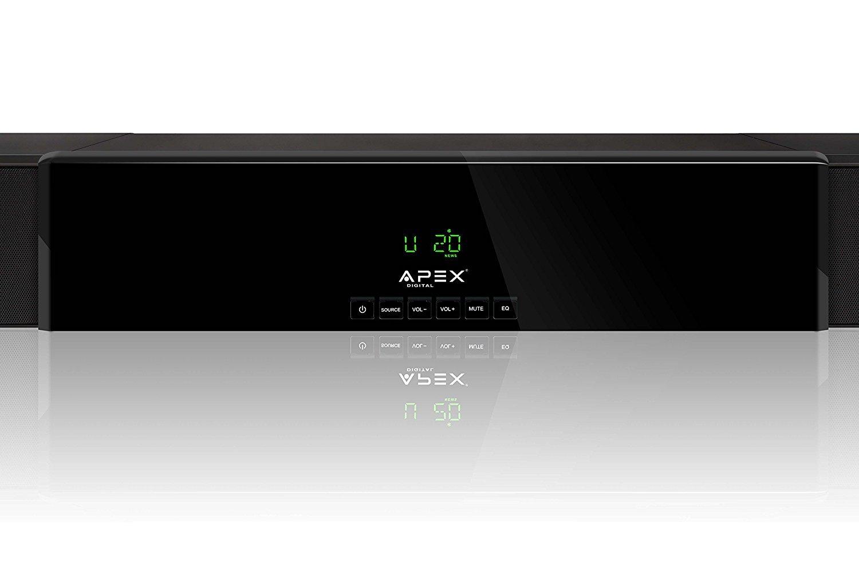 Apex Digital ASB 6000 HD Digital Home Theater Sound Bar, 350W by Apex Digital