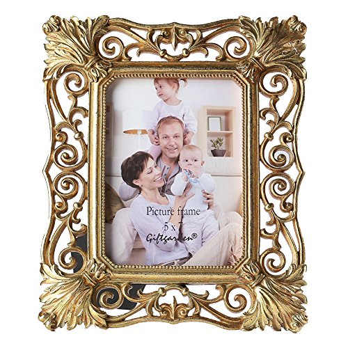5 x 7 gold tabletop frame - 9