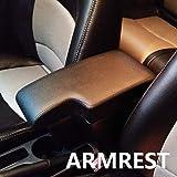 アームレスト センターコンソール ドリンクホルダー コンソールボックス 運転席 車肘置き 車 収納ボックス 小物入れ UPレザー 軽・コンパクトCX-3専用