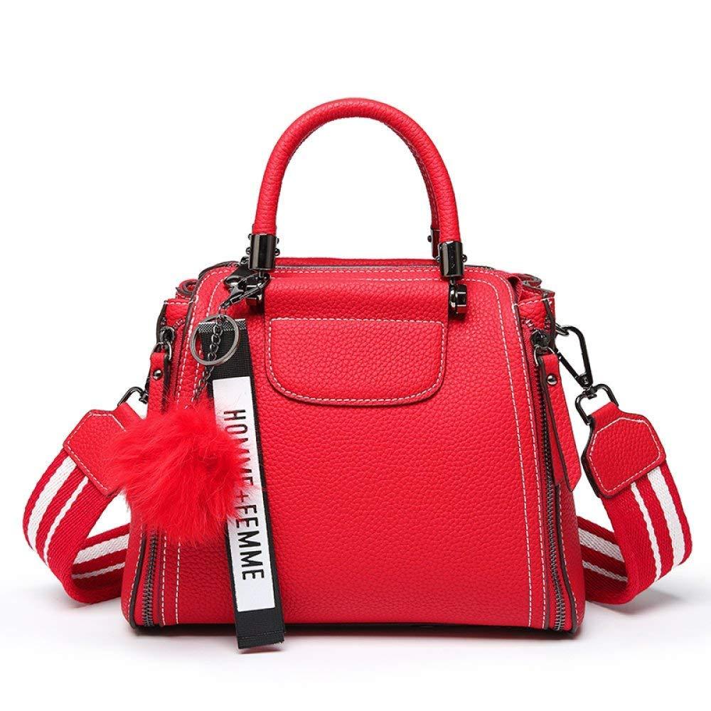 Zhao Liang Red Spring And Summer Shoulder Bag Messenger Bag Travel Shopping Bag