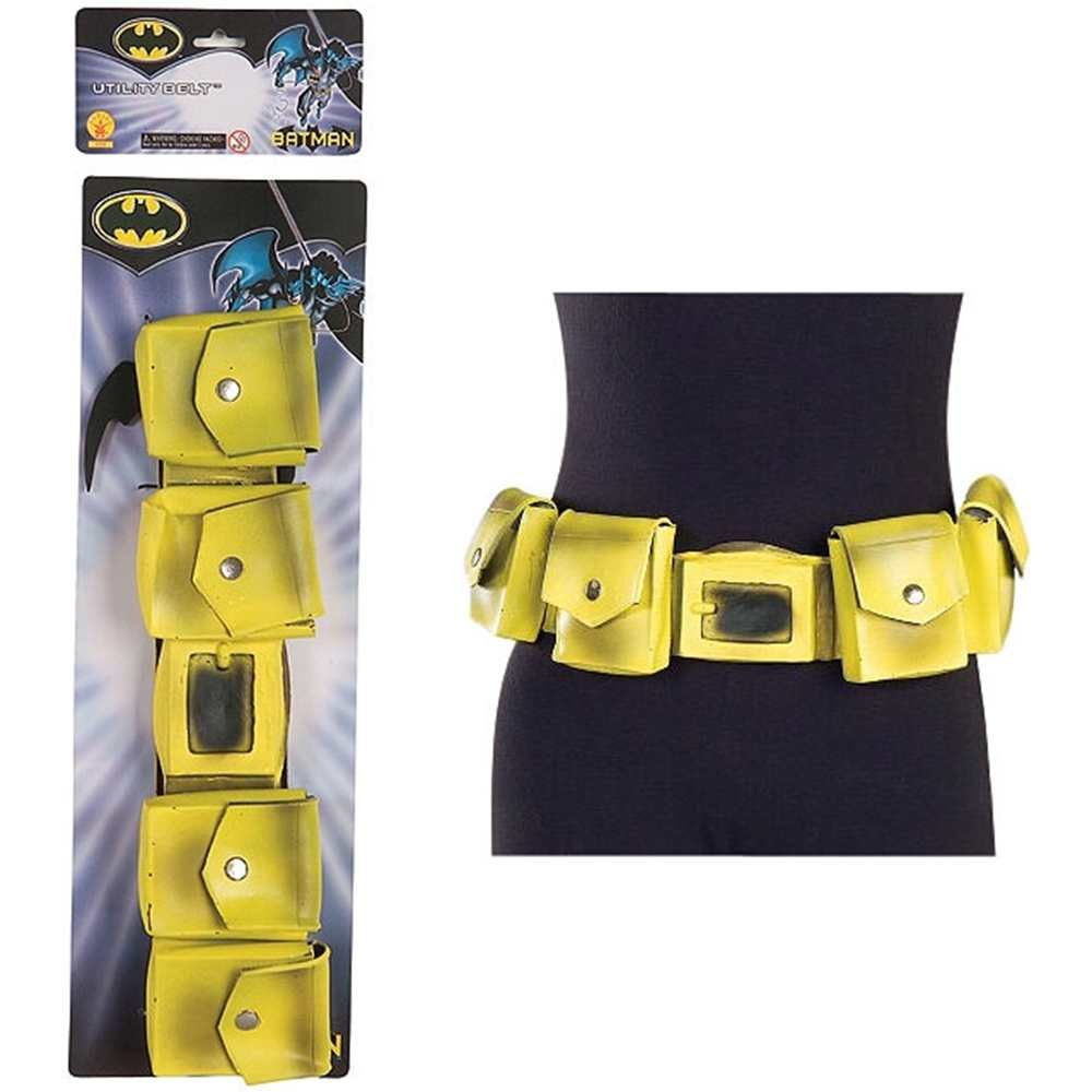 Yellow Batman Utility Belt w Bat Gear