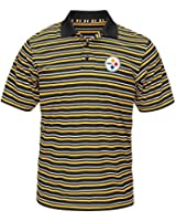 "Pittsburgh Steelers Majestic NFL ""Swift Attack"" Men's Cool Base Polo Shirt"