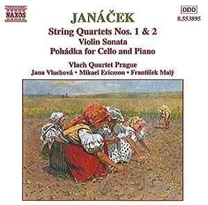 String Quartets 1 & 2 / Pohadka for Cello & Piano