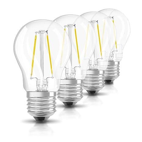 Bombilla 2W G45 E27 LED, 220 ~ 240 V, Blanco cálido, 2700 K