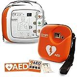 【AED】自動体外式除細動器 CU-SP1(シーユーSP1) キャリングケース付 CUメディカル社 本体+キャリングケース+レスキューセット+屋外ステッカーのお得セット【本体 AED-CU-SP1 、レスキューセット、キャリングケース、 AED専門店クオリティー AEDステッカー1604、1609 】