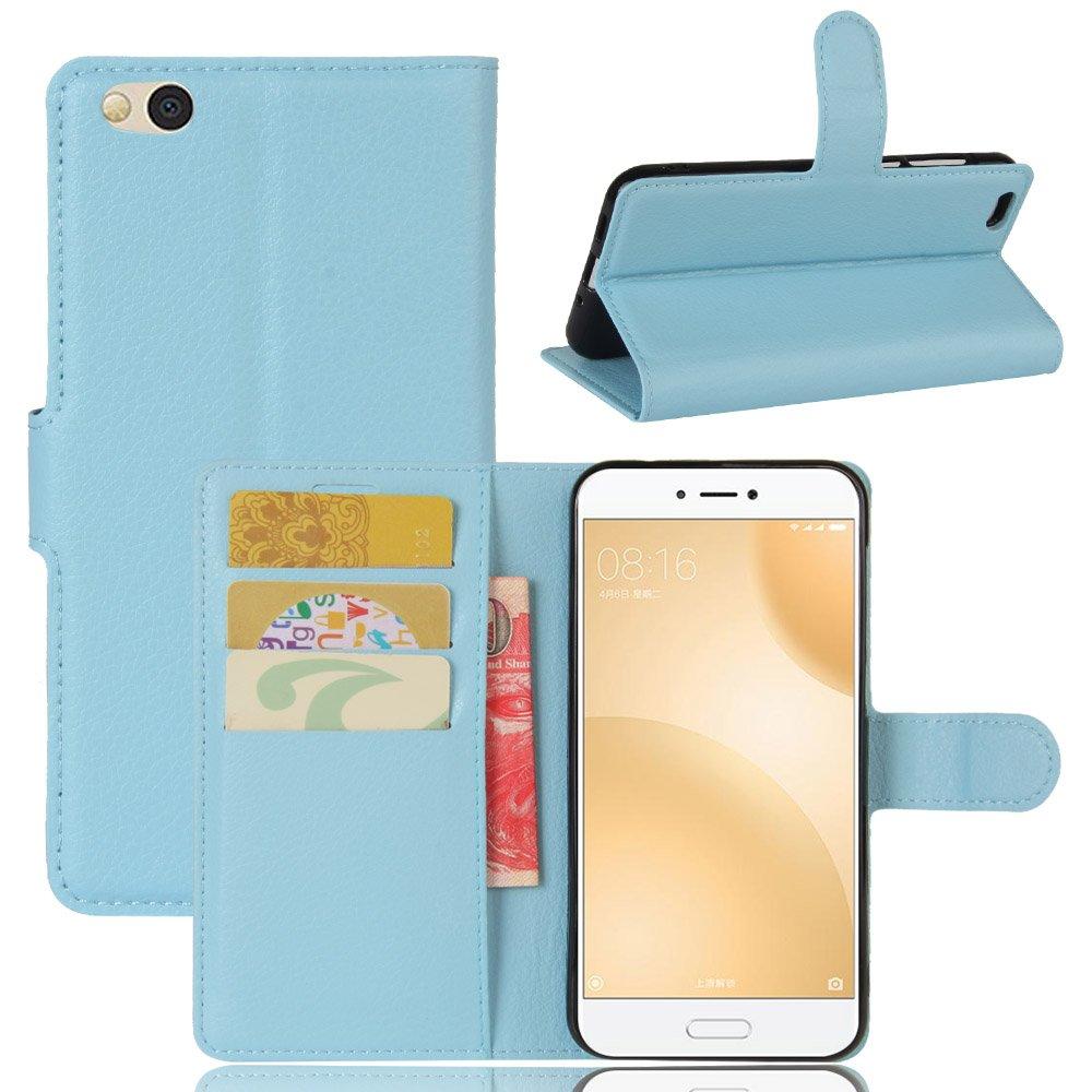 Xiaomi Mi 5C Funda, Funda de Cuero Pu Book Flip con Función de ...
