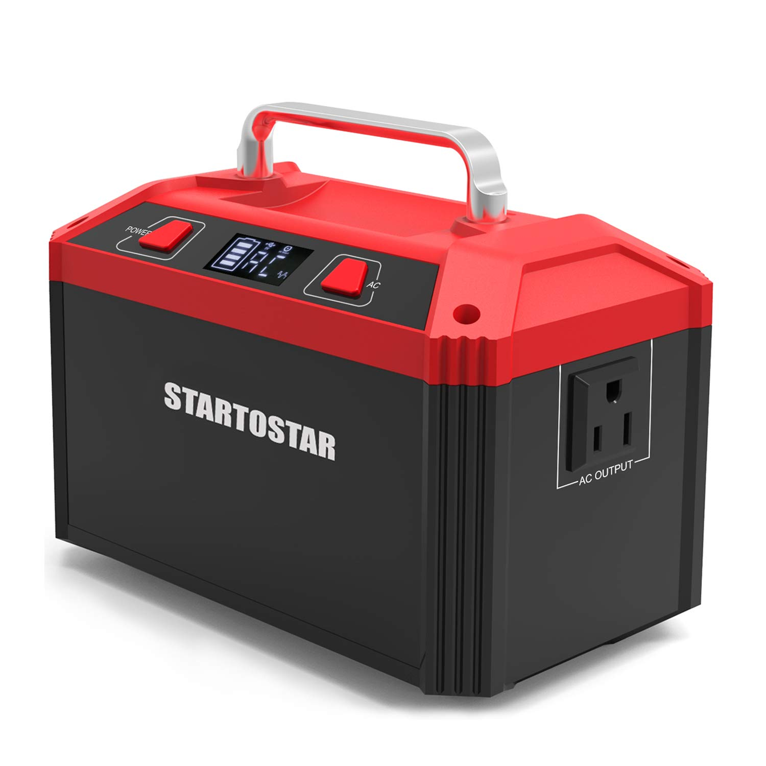 Startostar Portable Generator Power Station, 178Wh 48000mAh Lithium Battery Pack, 150W Rechargeable Emergency Power Supply with 110V AC Outlet, 3 DC 12V, 2 USB 5V for CPAP Backup Camping Traveling