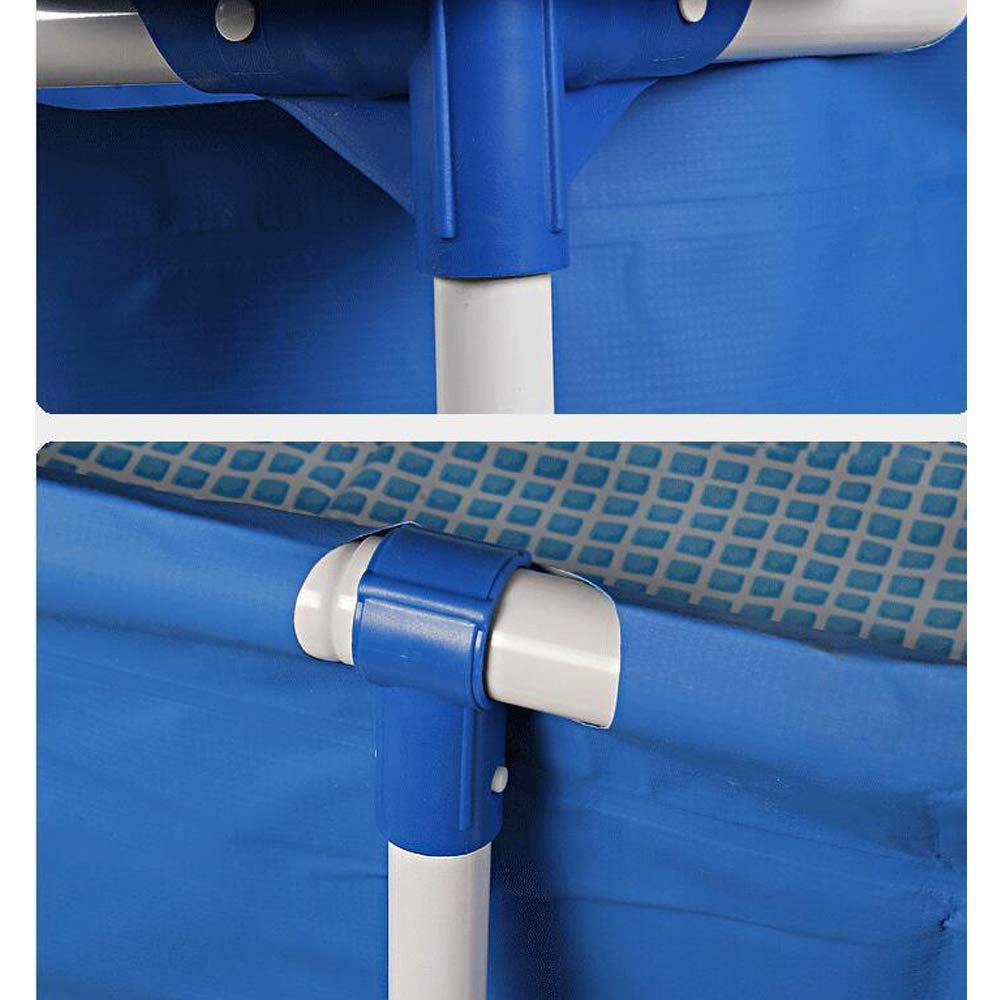 ZY Rechteckiger Rahmen Planschbecken, verdickter überdimensionaler Bracket-Familienpool für für für Familien-Poolpartys,260×160×65cm B07QMBHWFM Taschen Ausgezeichneter Wert 592a5b