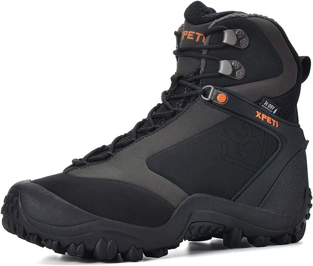 XPETI Men s Ridge 8 Thermal Waterproof Hiking Trekking Outdoor Boot