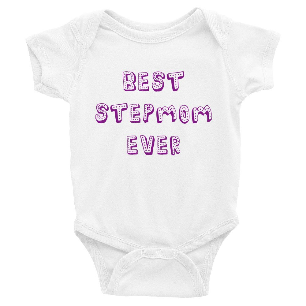 Fabby Gifts Best Stepmom Ever Infant Bodysuit