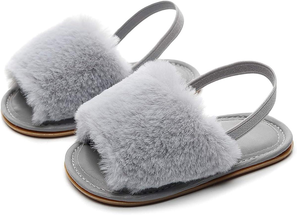 Bebila Summer Baby Girls Sandals Faux