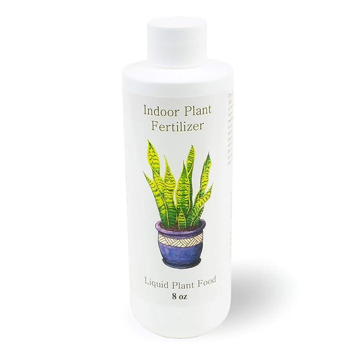 Indoor Plant Food | All-purpose House Plant Fertilizer | Liquid Common Houseplant Fertilizers for Potted Planting Soil | by Plants for Pets