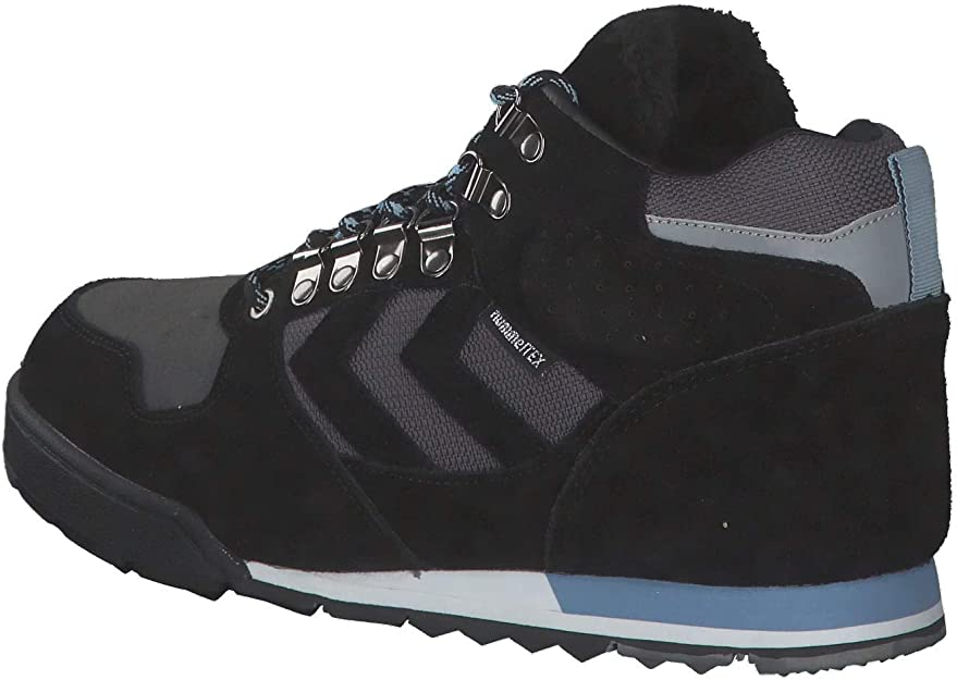 Hummel Nordic Roots Forest Mid outdoor boot bottes chaussures bleu 208832 7459 WOW