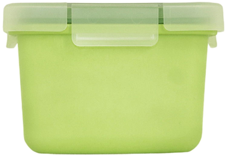 0,4 L Valira 6092//51 R/écipient herm/étique 0.4 L fabriqu/é en Espagne Couleur Vert Thermoplastique