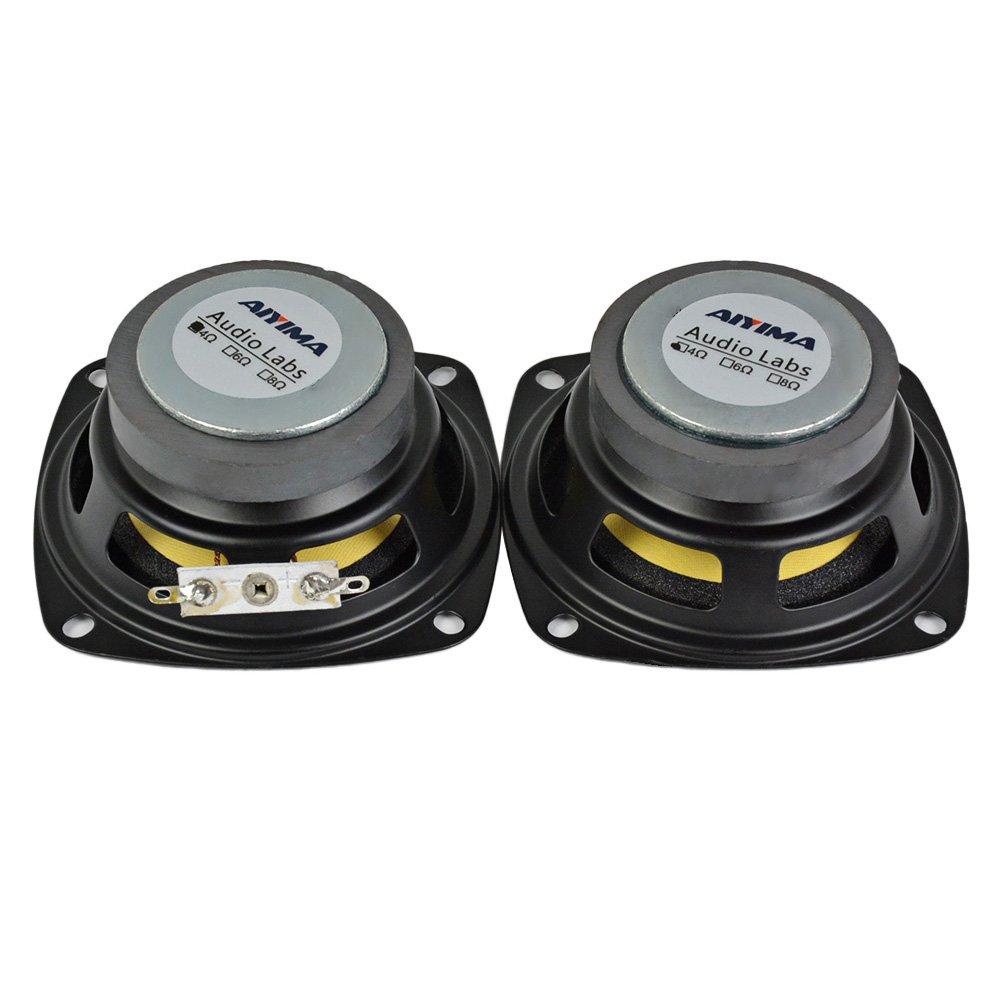 AIYIMA 2Pcs 3Inch Audio Portable Speakers Full Range 4Ohm 10W Speaker Magnetic Multimedia Loudspeaker DIY HIFI Home Theater by AIYIMA (Image #4)