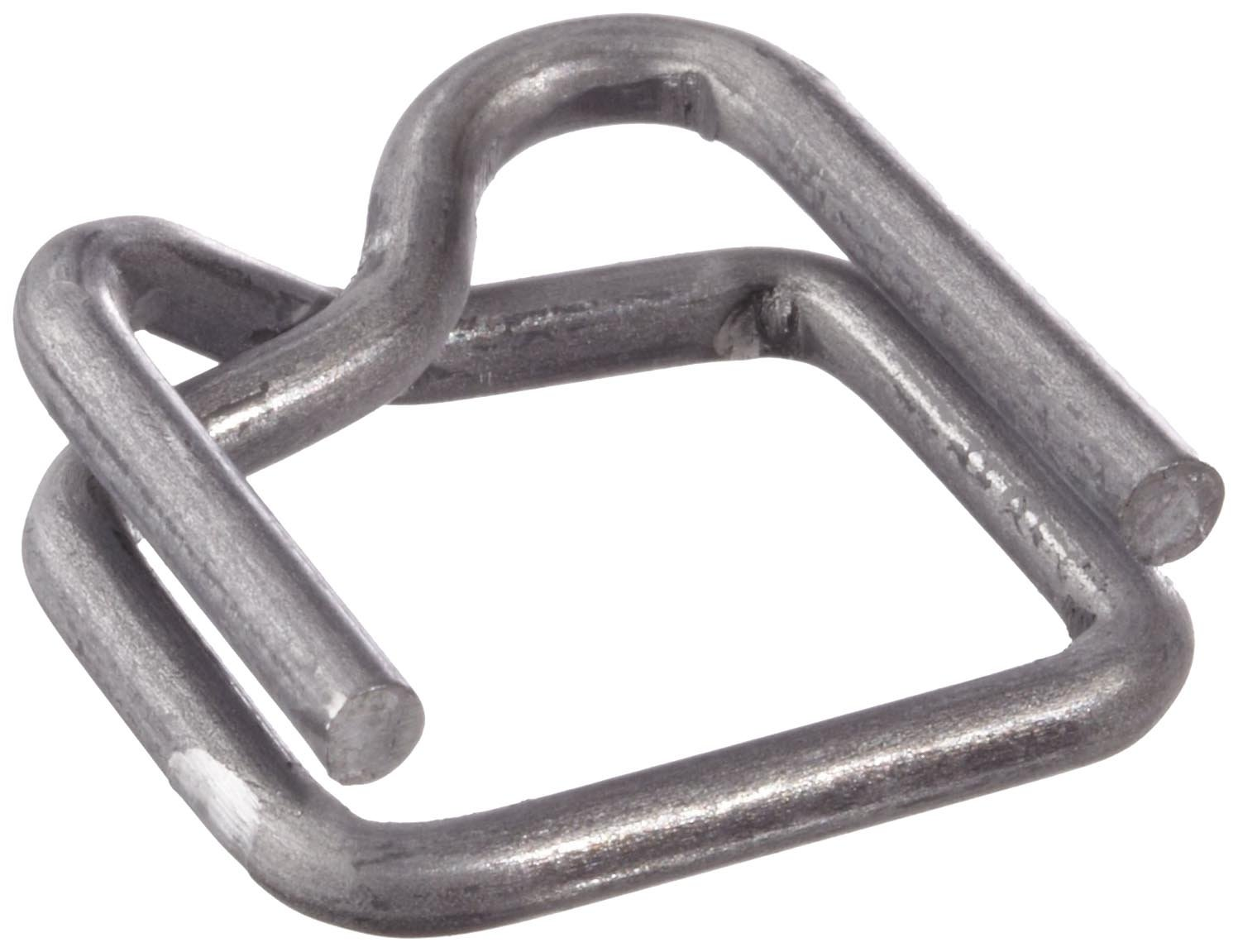 PAC Strapping B-4A 1/2'' Wire Buckle, 1000 Count