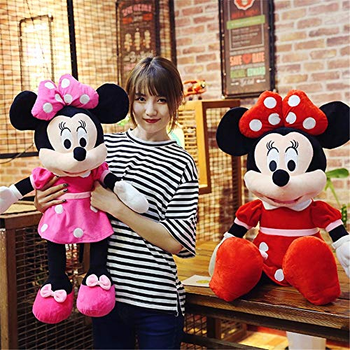 Stuffed & Plush Animals - 40-100cm Stuffed Mickey&Minnie Mouse Soft Plush Toy VINSS Birthday Wedding Gifts for Childrens Baby - by VINSS - 1 PCs